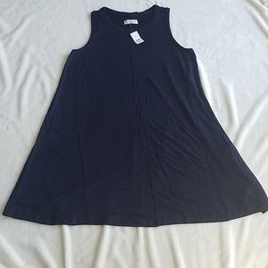 NWT Lou & Grey Softblend Lite Swing Dress